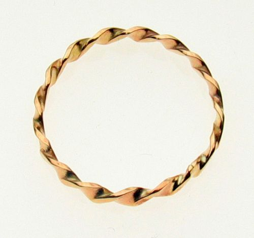 9ct Gold Stacker Ring 2.7 mm width