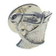 Horse Head Sterling 925 Silver Lapel Pin