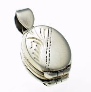 Locket Pendant Double hinged