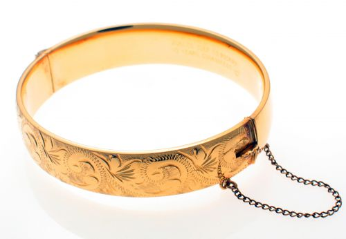 Rolled Gold Bangle