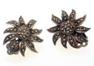 Silver & Marcasite Earrings