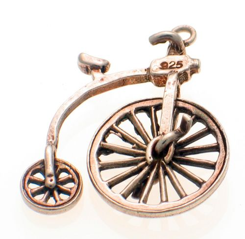 Nuvo Penny Farthing Charm