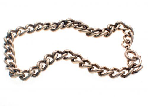 Sterling siilver curb bracelet
