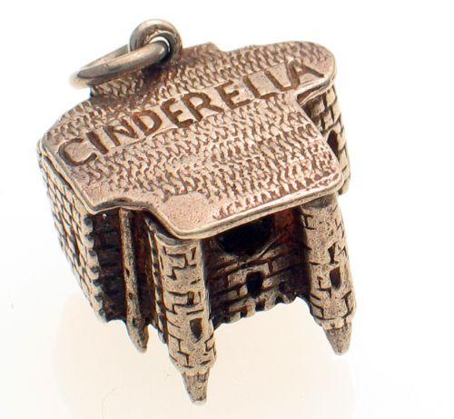 Cinderella Castle Silver Charm