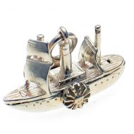 Paddle Steamer Silver Charm