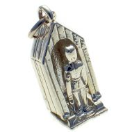 Sentry Box Palace Guard Silver Charm