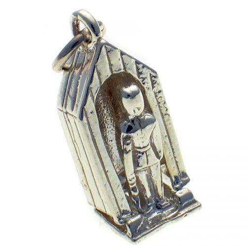 Sentry Box Palace Guard Silver Charm
