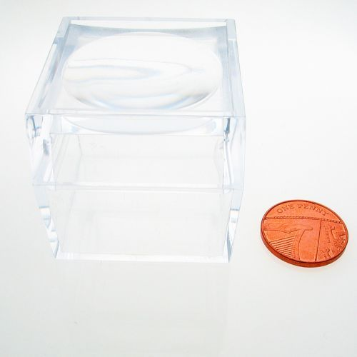 Magni box, Acrylic magnifier boxes 40 mm x4