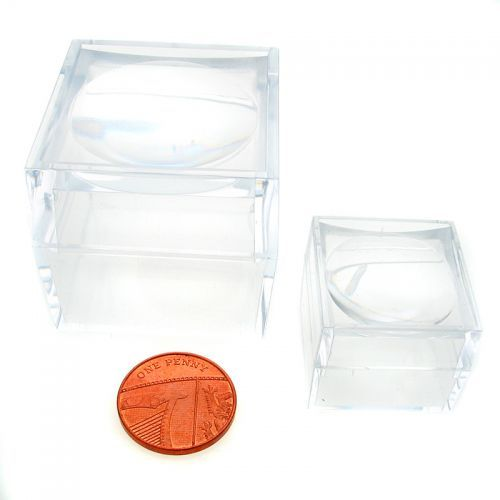 Magni box, Acrylic magnifier boxes trial pack