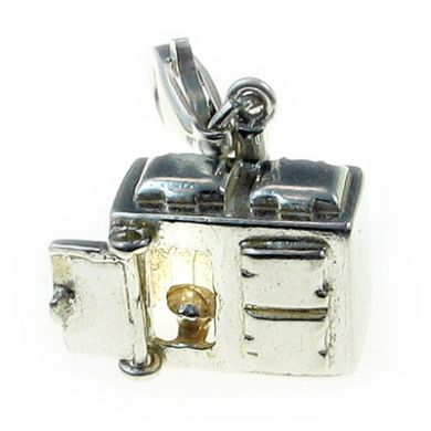 Stove Aga, Sterling Silver Charm