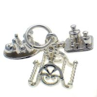 Baby Scales Sterling Silver Charm