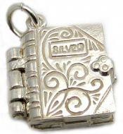 Book Verse Silver Charm