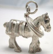 Cart Horse Charm