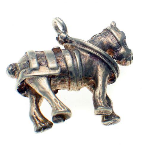 Heavy horse carthorse charm
