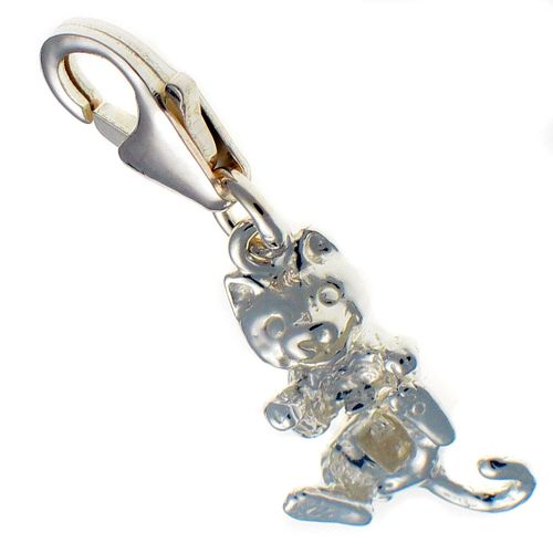 Cat Articulated Small Charm