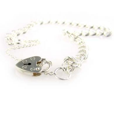 Sterling Silver Charm bracelet traditional DL