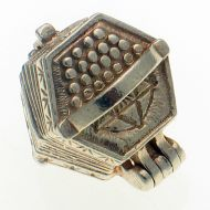 Chim Concertina Sterling Silver Charm