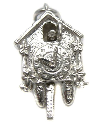 Sterling Silver Charm Cuckoo Clock