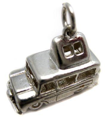 Dormobile van charm- sterling silver