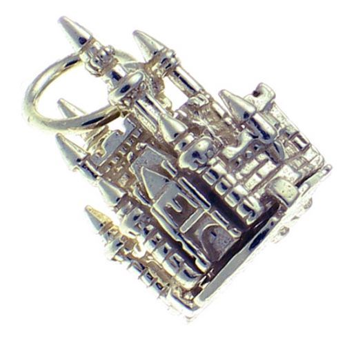 Fairy Castle sterling silver 925 opening charm