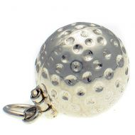 Golfball Sterling Silver Charm