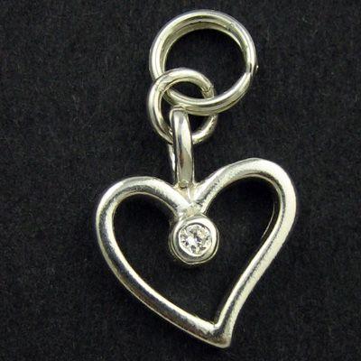 Heart Pendant Solitaire