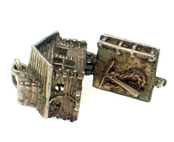 chim swiss hiking cabin charm sterling charms 925