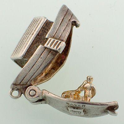 Nuvo Noah's Ark Silver Charm