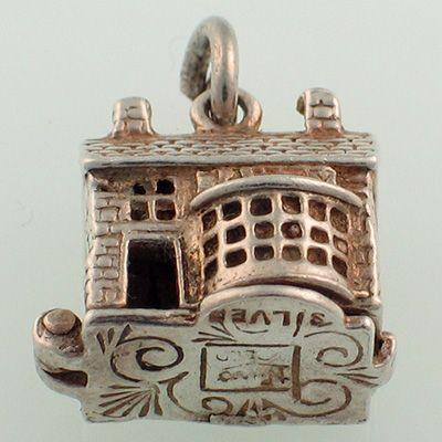 Nuvo Ye Olde Sweet Shoppe Silver Charm