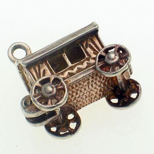 Nuvo Gypsy Caravan Silver Charm