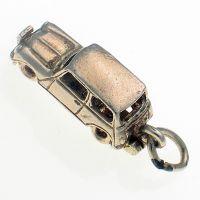 Nuvo Sterling Silver Mini Car Charm