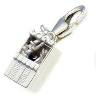 Punch & Judy Kiosk Silver Charm