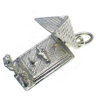 Pyramid Sterling Silver Charm