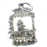 Romeo and Juliet Sterling Silver Charm