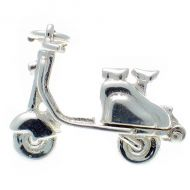 Scooter Sterling Silver Charm