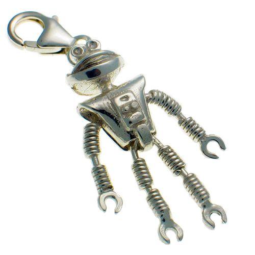 Smash - ing Alien Robot Charm