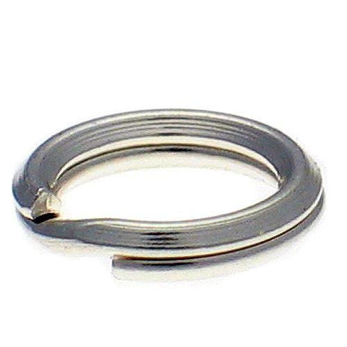 Split Rings Sterling Silver 7mm packet of 10