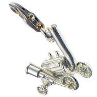 Stephenson's Rocket Silver Charm