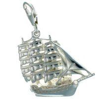 Ship Sailing Tall Frigate Charm