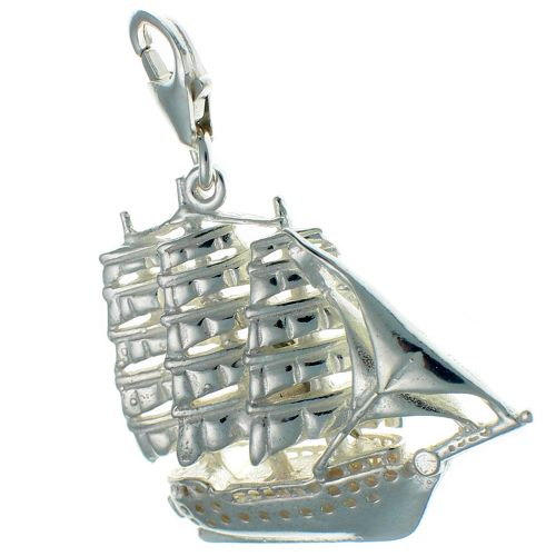 Ship Sailing Tall Frigate Charm