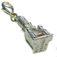 Tom Tower Oxford Silver Charm