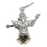 Wizard Sterling Silver Charm