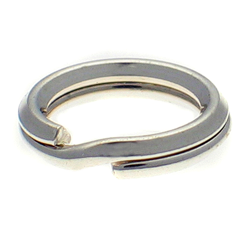 split rings sterling silver 8mm packet of 10 sterling
